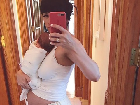Mum of five shares photo of her postpartum body to fight the pressure to 'bounce back'