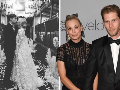 The Big Bang Theory stars turn out to see Kaley Cuoco wed Karl Cook in lavish ceremony
