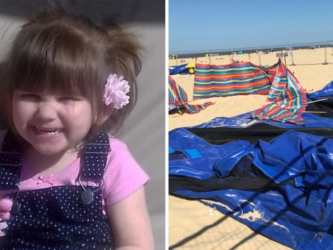 Bouncy castles banned by council after death of girl, 3, on beach inflatable