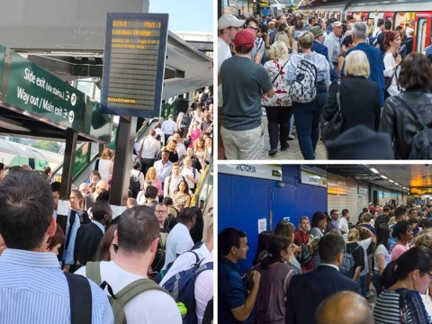 Commuter misery will continue this morning at Victoria Station