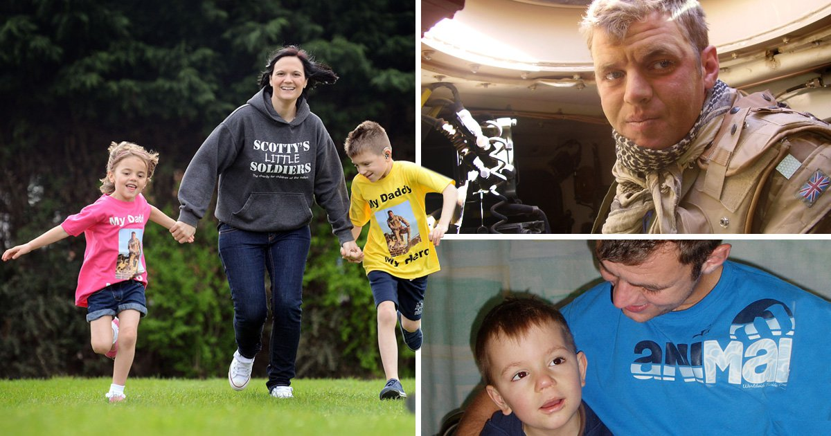 Son's smile inspired war widow to help other families torn apart by conflict