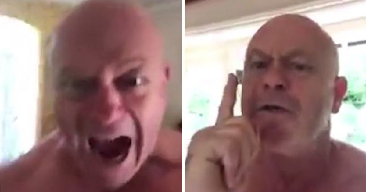 Ross Kemp freaking out again after England beat Sweden in the World Cup is everything