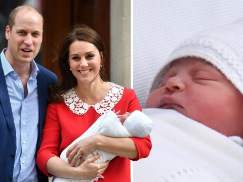 First picture of Prince Louis with Charlotte and George expected as christening plans revealed