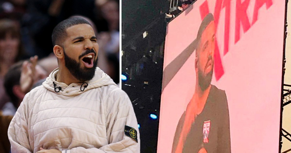 Drake makes surprise appearance at Wireless Festival as he pops up during Giggs' set