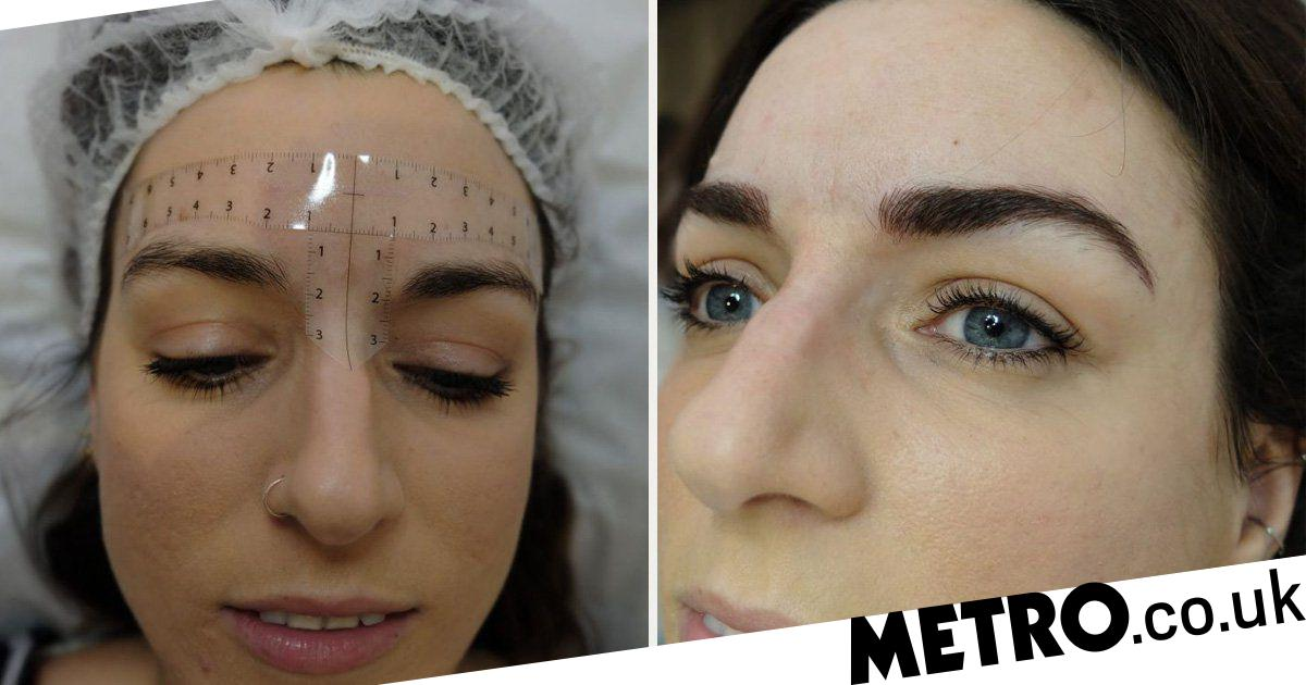A Step By Step Guide To The Microblading Eyebrows Process Metro News
