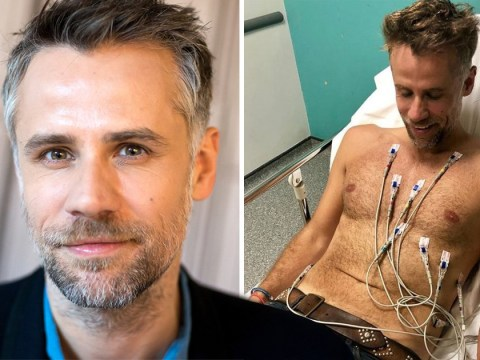 'I am alive': Richard Bacon 'nearly died' before pulling through six-day coma with needle jammed in his chest