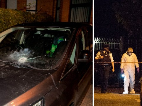 Former Sinn Fein leader Gerry Adams calls on whoever threw explosives at his home to explain why