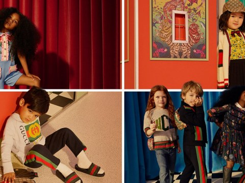 Net-a-Porter teams up with Gucci for their first ever childrenswear collection