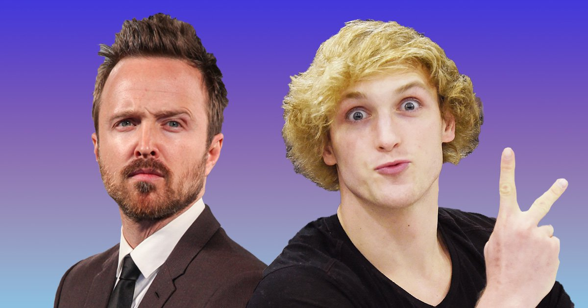 Logan Paul brands Breaking Bad's Aaron Paul a 'bully' for telling him to 'rot in hell' for his suicide forest video