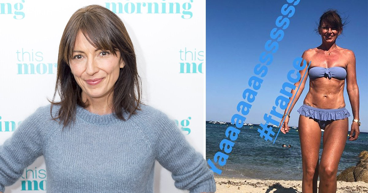 Davina McCall celebrates France's World Cup win with bikini snap – of course