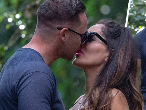Kieran Hayler kisses new girlfriend as he competes with estranged wife Katie Price's PDAs with Kris Boyson