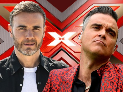 Gary Barlow gives Robbie Williams some crucial X Factor advice and a warning: 'I know what it does to you'