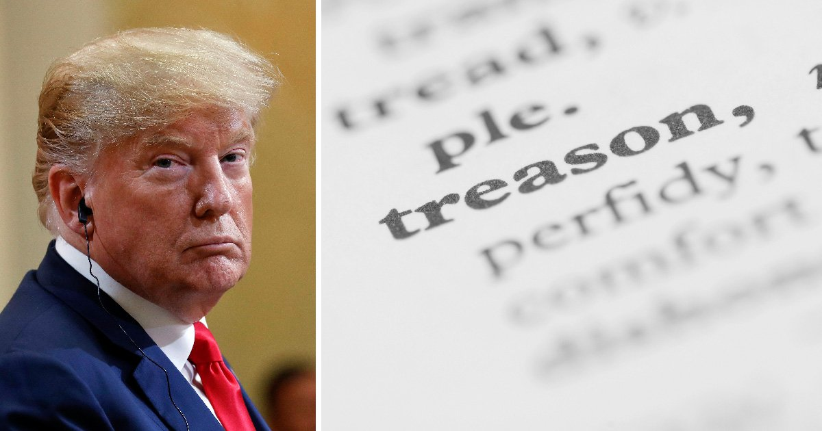 People searched for 'treason' after Trump refused to blame Putin for Russian interference