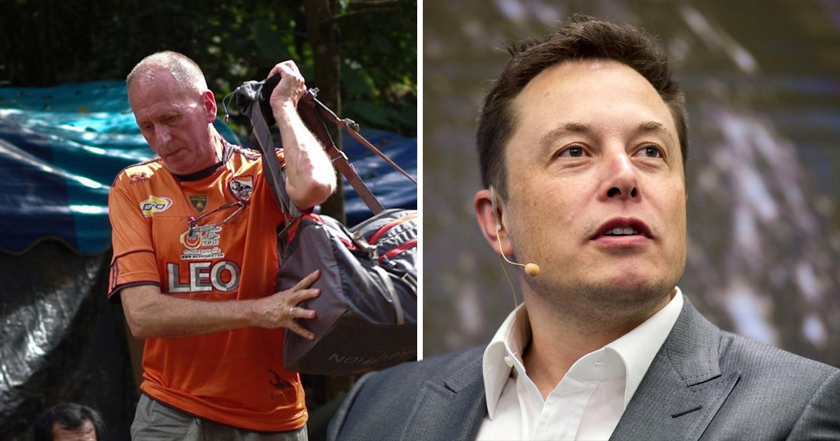 Elon Musk apologises for calling diver in Thai cave rescue a paedophile