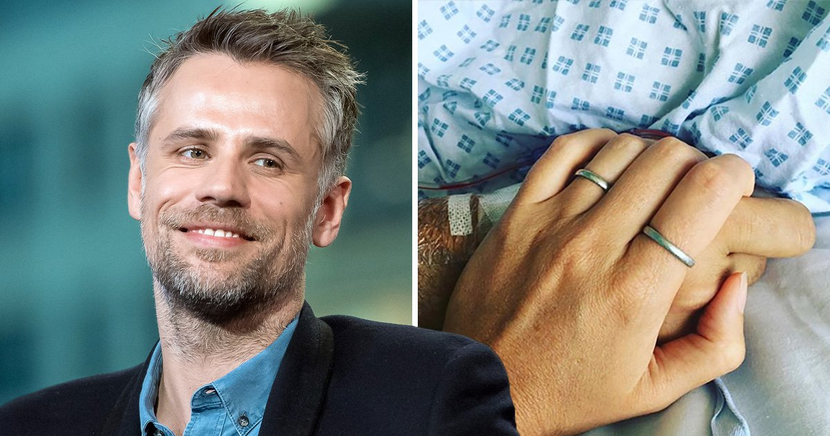 Richard Bacon pays tribute to wife after learning he fell into coma for 10 days