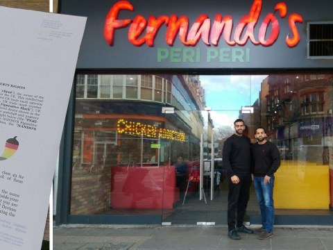 Nando's forces chicken shop to change name after accusing it of copyright infringement
