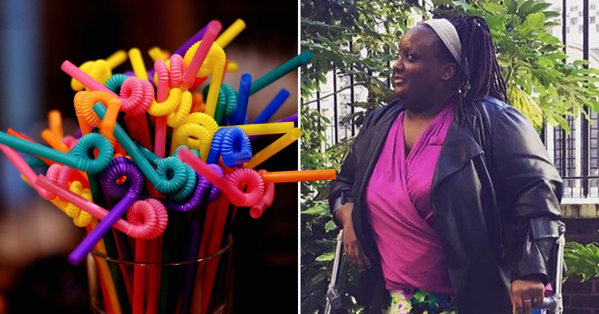 The straw ban might cut down plastic waste but it's not fair on disabled people