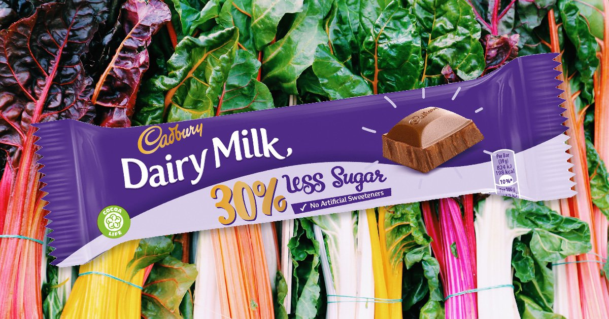 Cadbury to launch healthier Dairy Milk bar