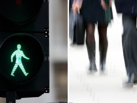 The man is going to be permanently green at some pedestrian crossings