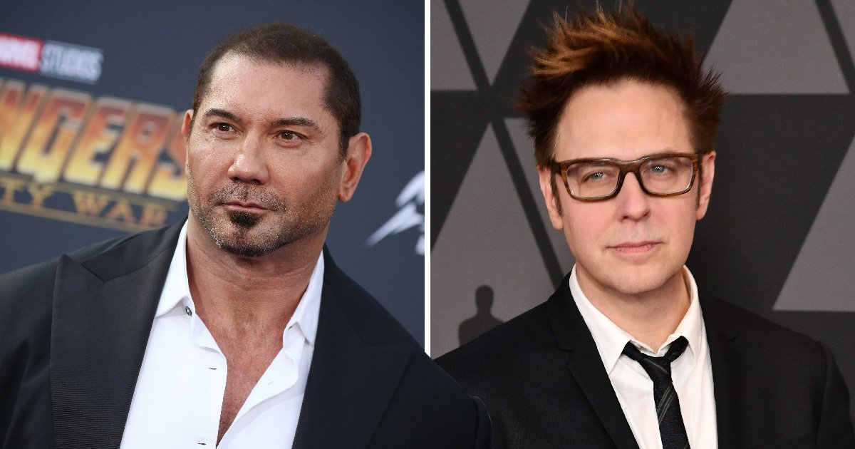 Dave Bautista slams Disney yet again for 'yielding to demands of alt-right' in James Gunn firing