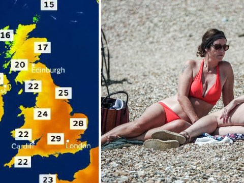 Brits to bask in 30C this weekend as hot weather returns following summer downpour