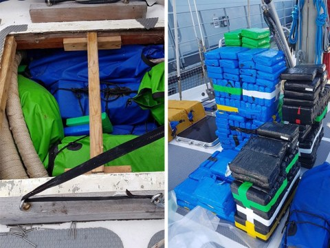 Two tonnes cocaine seized off Cornwall is one of the largest ever UK drug hauls