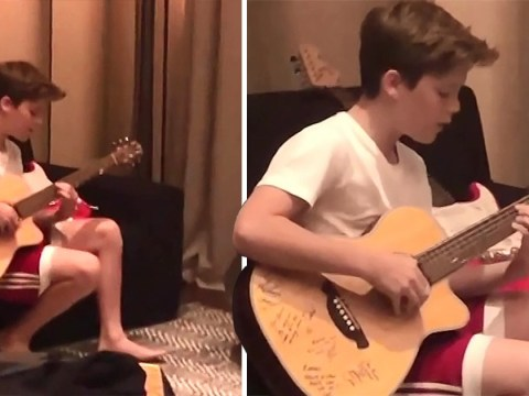 Cruz covers Justin Bieber's Love Yourself in sneaky video by Victoria Beckham