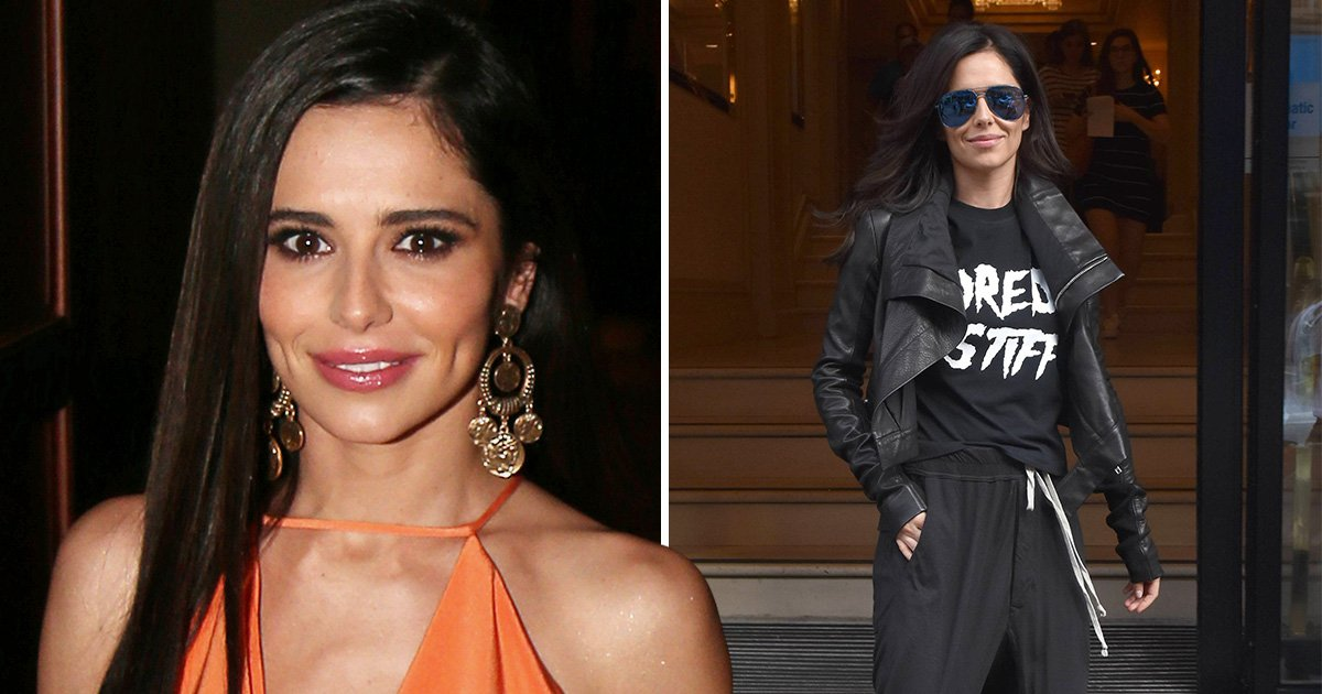 Cheryl is all smiles amid heartbreak as she bags herself movie role and plans film career