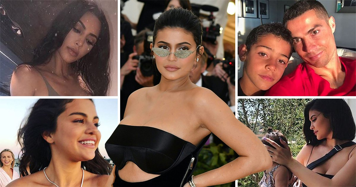 Kylie Jenner and Selena Gomez beat Cristiano Ronaldo and Kim Kardashian in Instagram Rich List