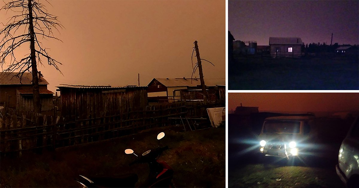 Towns mysteriously plunged into darkness in the middle of the day