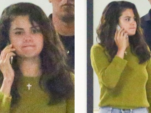 Selena Gomez appears tense as she's seen for first time since childhood friend Demi Lovato's apparent overdose