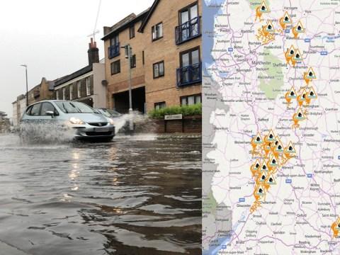 Flood warnings as UK prepares for thunderstorms and torrential rain