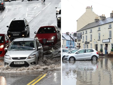 Belfast dumped with one month's rainfall in just one afternoon