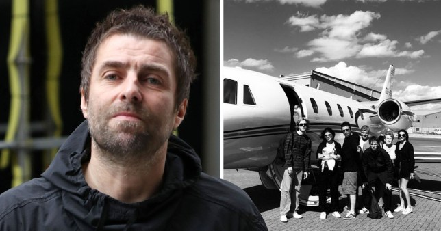 Liam Gallagher has whisked his family away for some R&R in Ibiza, and his daughter Molly is joining him on his holz for the first time