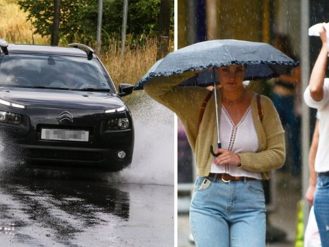 More flood warnings as heavy rain and 50mph gusts to batter Britain