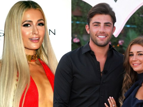 Paris Hilton leads celeb Love Island fans congratulating Dani Dyer and Jack Fincham
