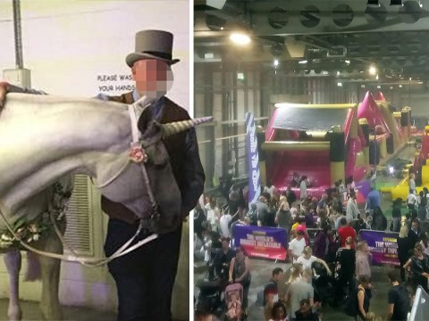 'Rip off' festival with a sad unicorn and long queues is slammed by parents