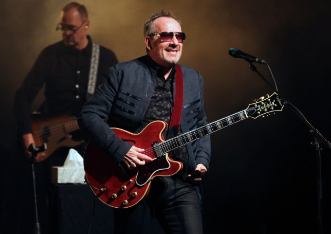Mandatory Credit: Photo by Tracey Paddison/REX/Shutterstock (9718882g) Elvis Costello Festival of Voice, Wales Millennium Centre, Cardiff, Wales, UK - 17 Jun 2018