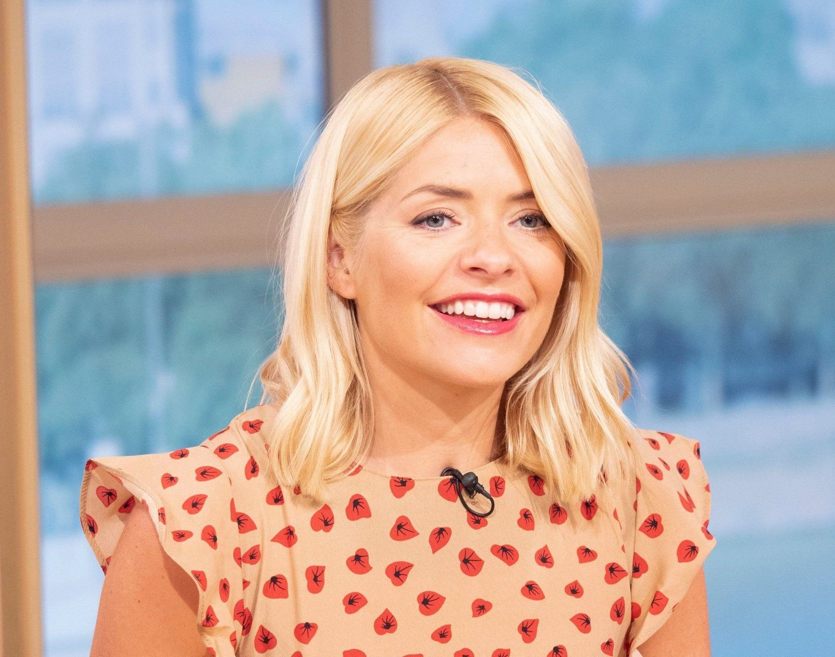 EDITORIAL USE ONLY. NO MERCHANDISING Mandatory Credit: Photo by Ken McKay/ITV/REX/Shutterstock (9732591bl) Holly Willoughby 'This Morning' TV show, London, UK - 02 Jul 2018