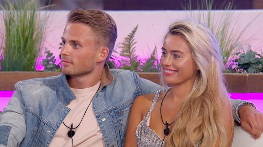 This image is strictly embargoed until 22.30 Monday 2nd July 2018 From ITV Studios Love Island: SR4: Ep29 on ITV2 Pictured: Charlie and Ellie. This photograph is (C) ITV Plc and can only be reproduced for editorial purposes directly in connection with the programme or event mentioned above, or ITV plc. Once made available by ITV plc Picture Desk, this photograph can be reproduced once only up until the transmission [TX] date and no reproduction fee will be charged. Any subsequent usage may incur a fee. This photograph must not be manipulated [excluding basic cropping] in a manner which alters the visual appearance of the person photographed deemed detrimental or inappropriate by ITV plc Picture Desk. This photograph must not be syndicated to any other company, publication or website, or permanently archived, without the express written permission of ITV Plc Picture Desk. Full Terms and conditions are available on the website www.itvpictures.co.uk For further information please contact: james.hilder@itv.com / 0207 157 3052