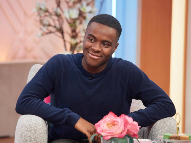 Liam Charles appears on Lorraine