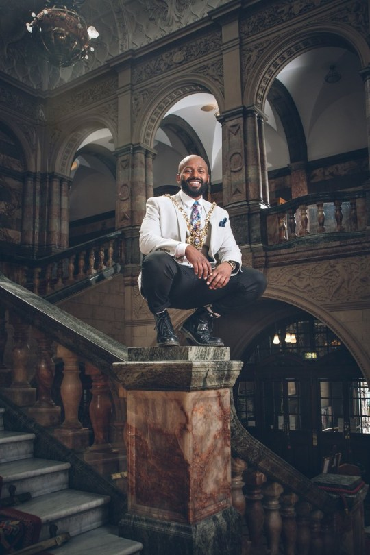 Mayor of Sheffield brands Donald Trump a 'wasteman' and bans him from the city METRO GRAB taken from: https://twitter.com/MagicMagid/status/996748372802404352 Credit: Magic Magid/Twitter