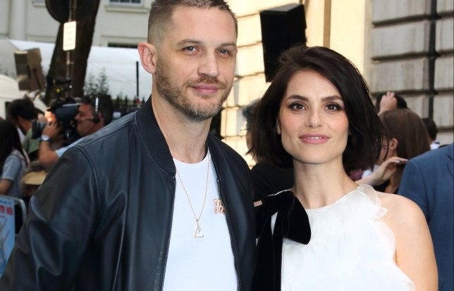 Swimming With Men UK premiere at the Curzon Mayfair, London Featuring: Tom Hardy, Charlotte Riley Where: London, United Kingdom When: 04 Jul 2018 Credit: WENN.com