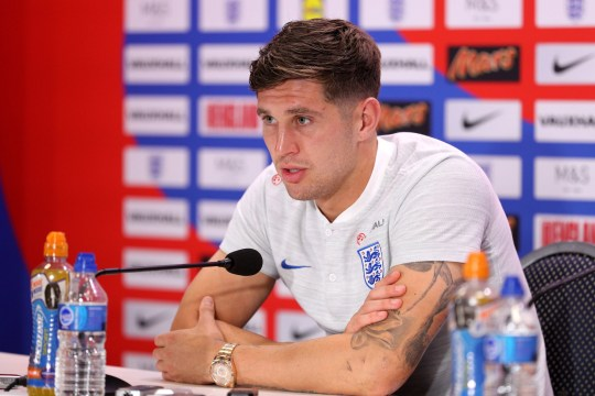 England's John Stones during the press conference at Repino Cronwell Park, Repino. PRESS ASSOCIATION Photo. Picture date: Thursday July 5, 2018. See PA story WORLDCUP England. Photo credit should read: Owen Humphreys/PA Wire. RESTRICTIONS: Editorial use only. No commercial use. No use with any unofficial 3rd party logos. No manipulation of images. No video emulation.