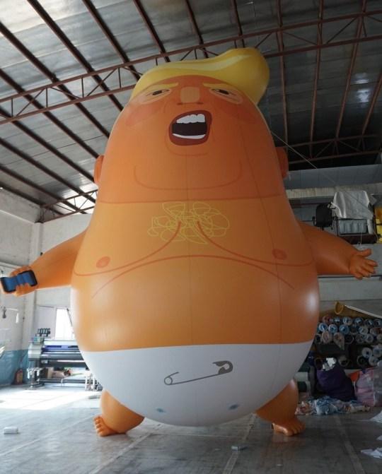 Credit: crowdfunder/trump-baby
