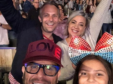 Lisa Armstrong parties it up in LA with former bandmates amid Ant McPartlin heartbreak