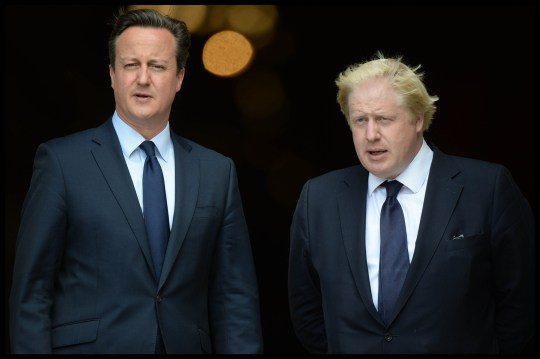 It has been reported that Boris Johnson is 'talked down from resigning' over Brexit by David Cameron in secret meeting on eve of Chequers summit Image ??Licensed to i-Images Picture Agency. 07/07/2015. London, United Kingdom. The London Mayor Boris Johnson, Prime Minister David Cameron, The Duke of York, survivors, familiezs and emergency workers attend a service at St Paul's Cathedral, to mark the 10 Year anniversary of the London 7/7 Bombings. Picture by Andrew Parsons / i-Images