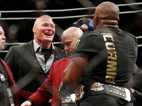 UFC star Daniel Cormier wants USADA and independent testers to prove Brock Lesnar is clean