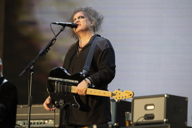 The Cure perform on the Great Oak Stage, British Summer Time 2018 Day 2, Hyde Park, London Featuring: Robert Smith, The Cure Where: London, United Kingdom When: 07 Jul 2018 Credit: Simon Reed/WENN.com