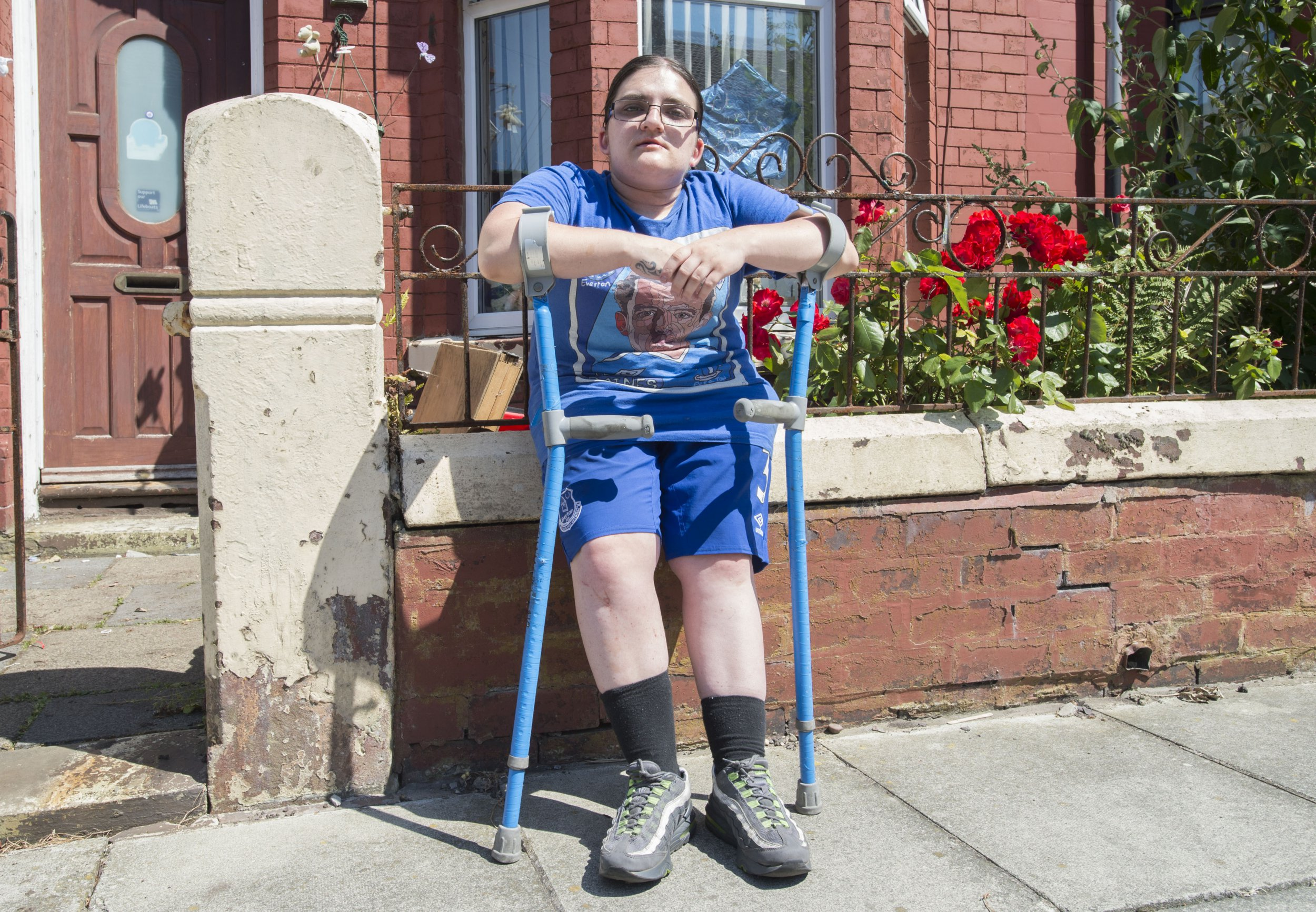 Pearl Kelly, from Orrell Park, who is taking the DWP to court. Photo by James Maloney